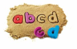 Learning Resources Alphabet Sand Moulds (26 Lowercase Letters)