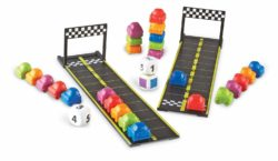 Learning Resources Mini Motor Cars Math Activity Set (Numeracy Game)