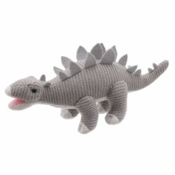 Wilberry Knitted Stegosaurus Dinosaur (Soft Toy)