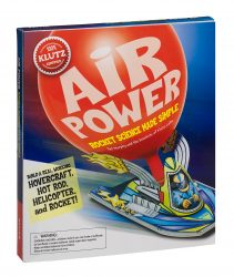 Air Power Rocket Science Made Simple (Klutz STEM kit - Build 4 Balloon-Powered Racers)