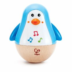Hape Penguin Music Wobbler (Wooden Eco Toy)