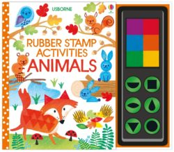 Usborne Rubber Stamp Activities Animals (Book + Stamps + Paint)