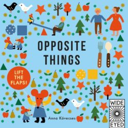 Opposite Things - Learn with Little Mouse (Wide Eyed Hardcover Book)