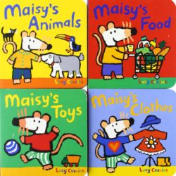 Walker Books - Maisy's Little Library (Board Books by Lucy Cousins)