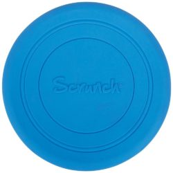 Scrunch Bendable and Foldable Soft Frisbee (Blue)