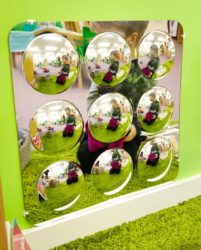 Tickit Large 9-Domed Acrylic Sensory Mirror Panel - 490mm
