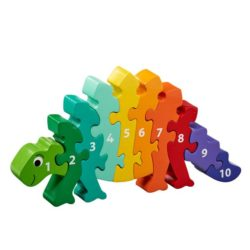 Lanka Kade Fair Trade Dinosaur 1-10 Number Jigsaw Puzzle (Early Numeracy Jigsaw)