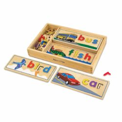 Melissa & Doug See and Spell Learning Toy (Spelling Toy)