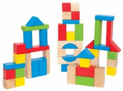 Hape Maple Blocks (50 Wooden Bricks - Eco Toy)
