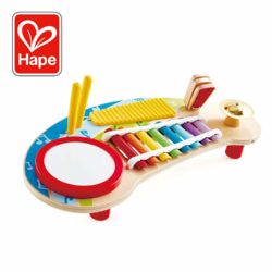 Hape Mighty Mini Band - 5-in-1 Music Station (Musical Sound Eco Toy)