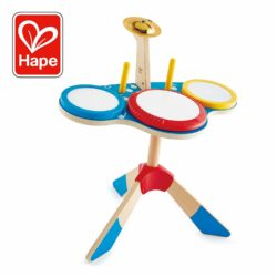 Hape Drums & Cymbal Set - Rock & Rhythm Band (Musical Sound Eco Toy)