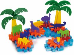 Quercetti Georello Jungle Constructions Gear Set (50 pieces)
