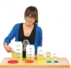 Edx Education Measuring Bottle Set (Set of 5)