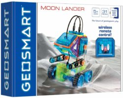 GeoSmart Moon Lander (Magnetic Construction Set)