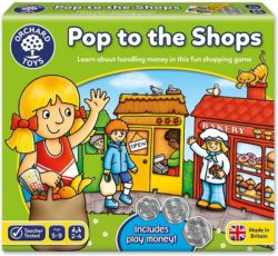 Orchard Toys Pop to the Shops (Maths Board Game)