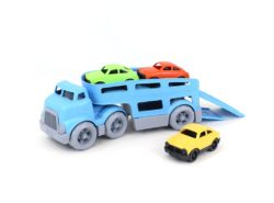 Green Toys Car Carrier - Double Decker with Cars (Eco Toy)