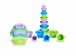 Green Toys My First Stacking Cups (Eco Toy)