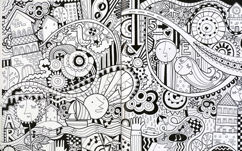 Drawing Doodling And Colouring Book Usborne Activity Book Wordunited